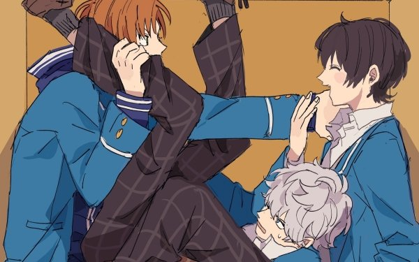 Anime Ensemble Stars Ritsu Sakuma Leo Tsukinaga Izumi Sena HD Wallpaper | Background Image