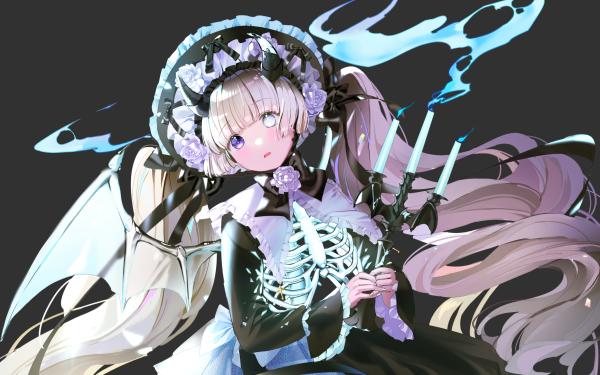 Anime Original Heterochromia Bones HD Wallpaper | Background Image