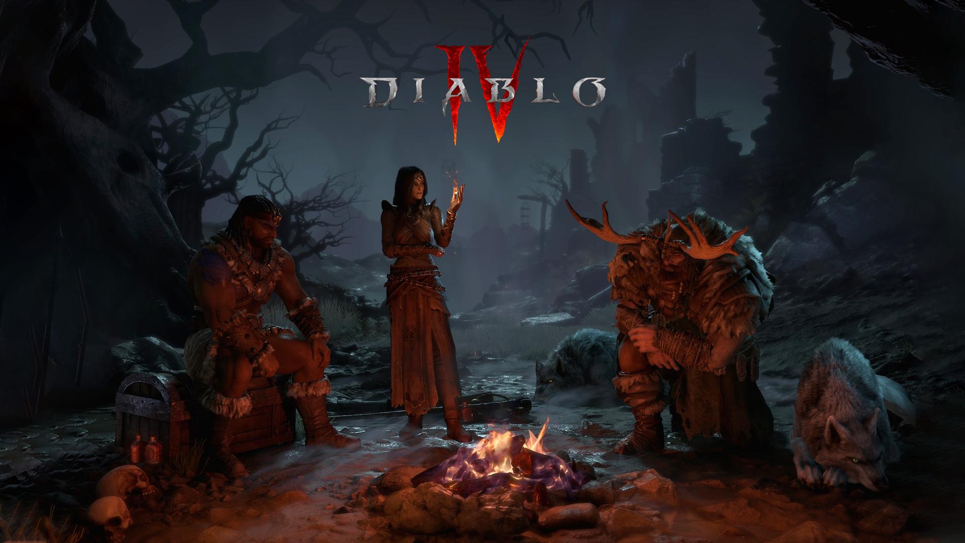 Diablo IV Wallpaper with game's logo top of it Papel de Parede HD | Plano  de Fundo | 1920x1080 | ID:1050003 - Wallpaper Abyss
