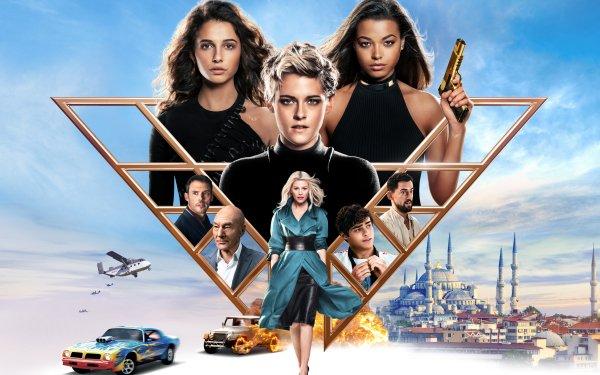 Movie Charlie's Angels (2019) Kristen Stewart Naomi Scott Elizabeth Banks Ella Balinska HD Wallpaper | Background Image