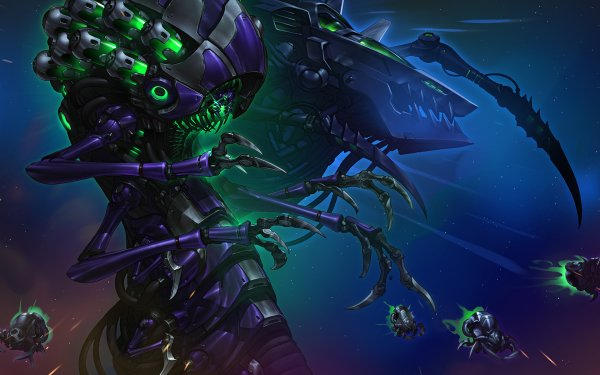 Video Game Heroes of the Storm Abathur HD Wallpaper | Background Image