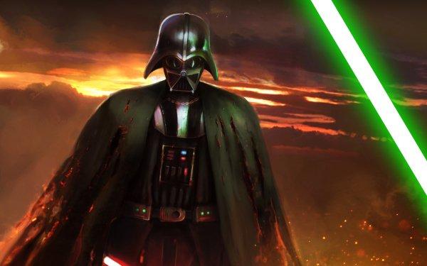 Sci Fi Star Wars Darth Vader Lightsaber HD Wallpaper | Background Image