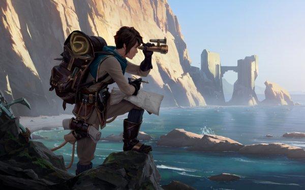 Video Game Legends of Runeterra Water Woman HD Wallpaper   Background Image