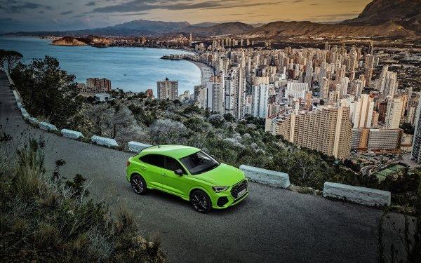 Vehicles Audi Q3 Audi Car Green Car SUV Luxury Car City HD Wallpaper | Background Image