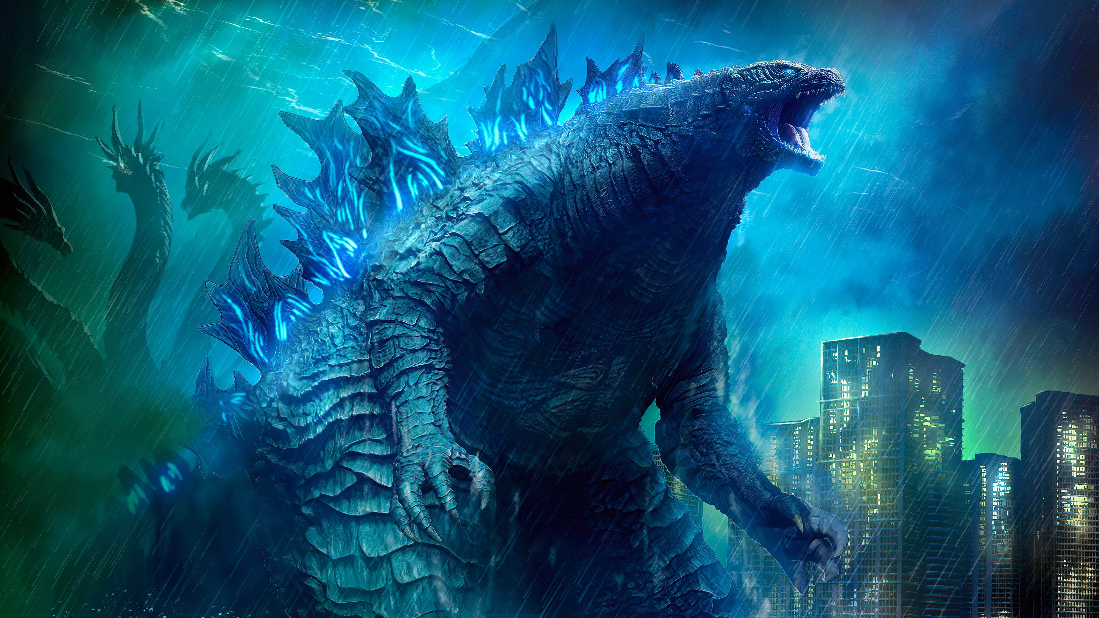 Godzilla King Of The Monsters 4k Ultra Hd Wallpaper Background