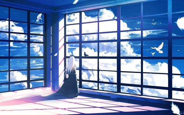 Anime Original Long Hair HD Wallpaper | Background Image