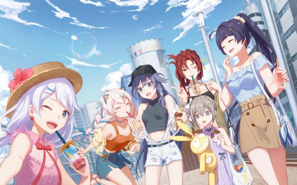 Video Game Honkai Impact 3rd Kiana Kaslana Raiden Mei Bronya Zaychik Fu Hua Theresa Apocalypse Murata Himeko HD Wallpaper | Background Image