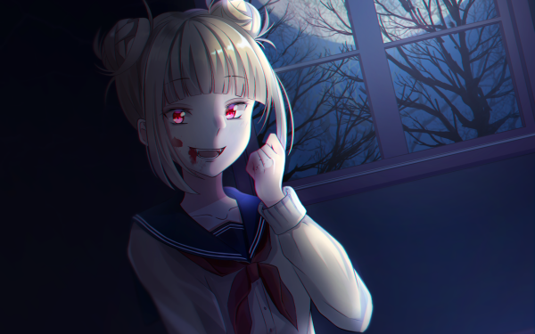 Anime My Hero Academia Himiko Toga Night Blood HD Wallpaper   Background Image