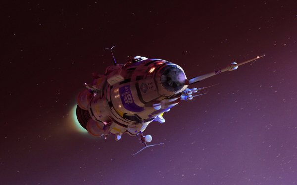 Sci Fi Spaceship Space HD Wallpaper | Background Image