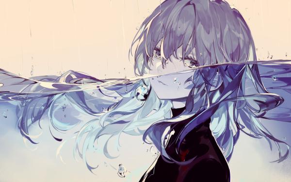 Anime Original Underwater HD Wallpaper | Background Image