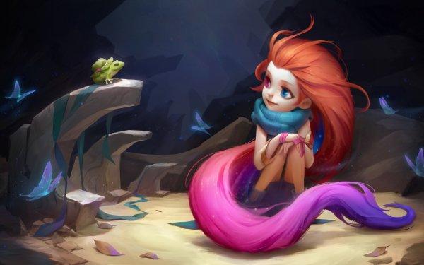 Video Game League Of Legends Zoe Heterochromia HD Wallpaper | Background Image