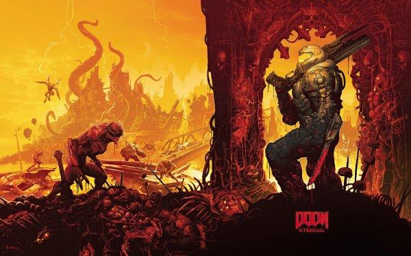 Video Game DOOM Eternal Doom HD Wallpaper | Background Image