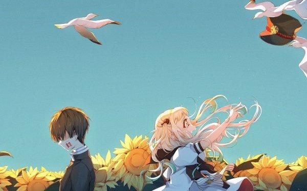 Anime Jibaku Shounen Hanako-kun Hanako-kun Yashiro Nene Fondo de pantalla HD | Fondo de Escritorio