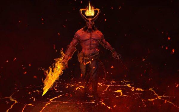 Comics Hellboy Dark Horse Comics Demon HD Wallpaper | Background Image