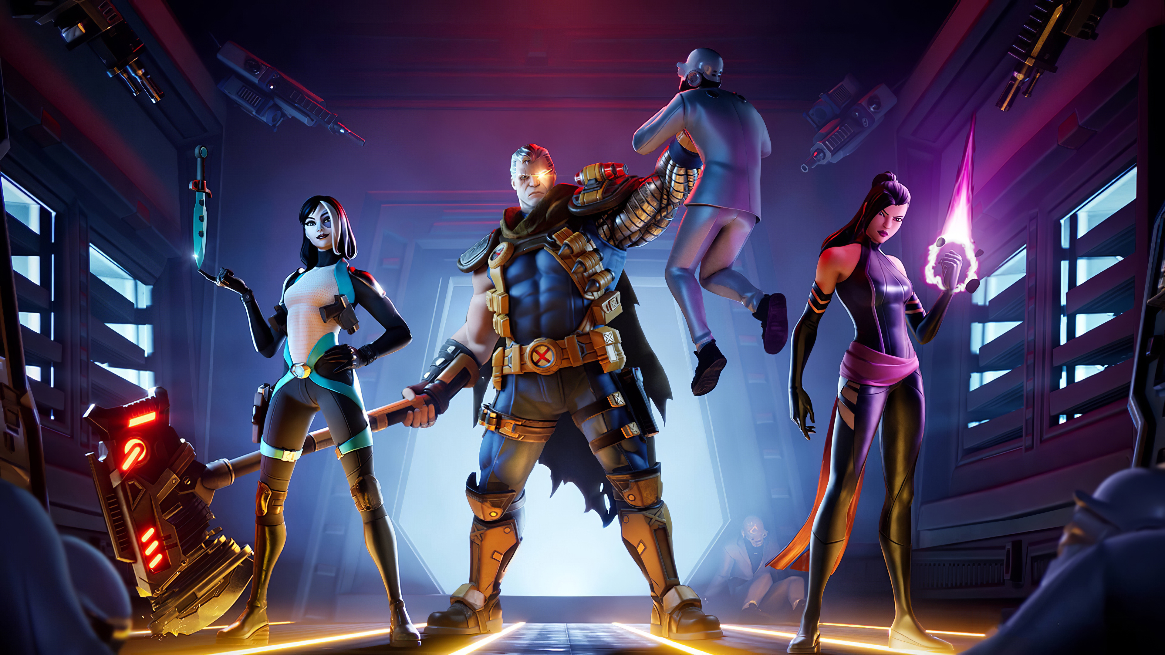 Fortnite 4k Ultra Hd Wallpaper Background Image 3840x2160 Id 1075357 Wallpaper Abyss