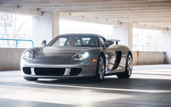 Vehicles Porsche Carrera GT Porsche Silver Car Sport Car Car HD Wallpaper | Background Image
