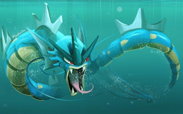 Anime Pokémon Gyarados HD Wallpaper | Background Image