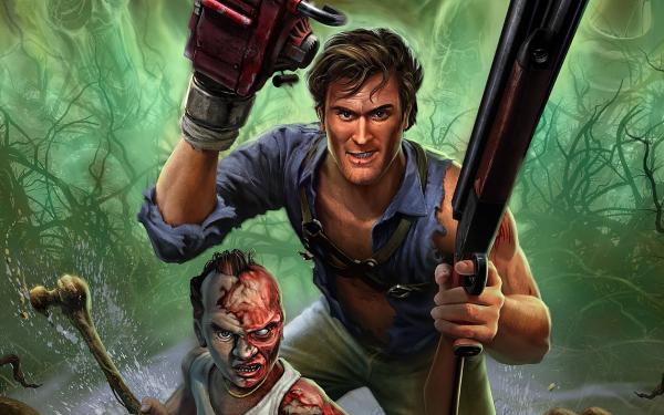 Video Game Evil Dead: Regeneration Evil Dead Ash Williams HD Wallpaper | Background Image