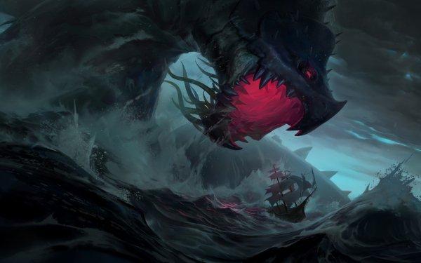 Video Game Legends of Runeterra Bilgewater HD Wallpaper   Background Image