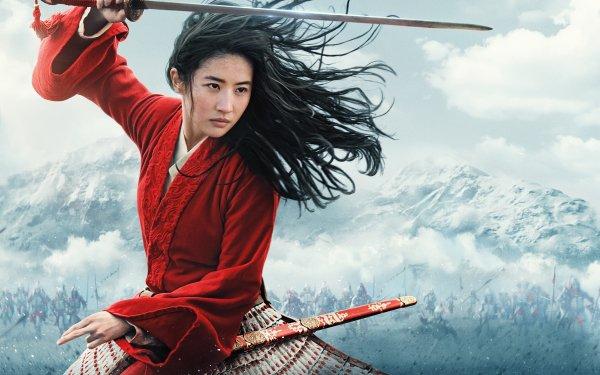 Movie Mulan (2020) Mulan Liu Yifei Chinese Actress Model Sword Hua Mulan HD Wallpaper | Background Image