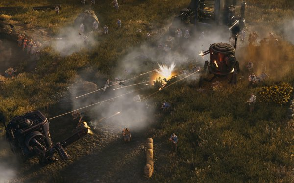 Video Game Iron Harvest HD Wallpaper | Background Image