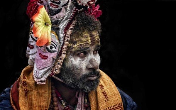 Men Face Hinduism Sâdhu HD Wallpaper | Background Image