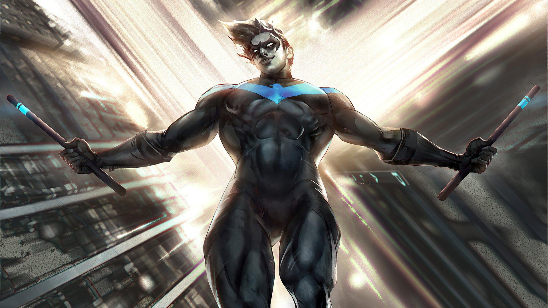 Nightwing 4k Ultra HD Wallpaper | Background Image