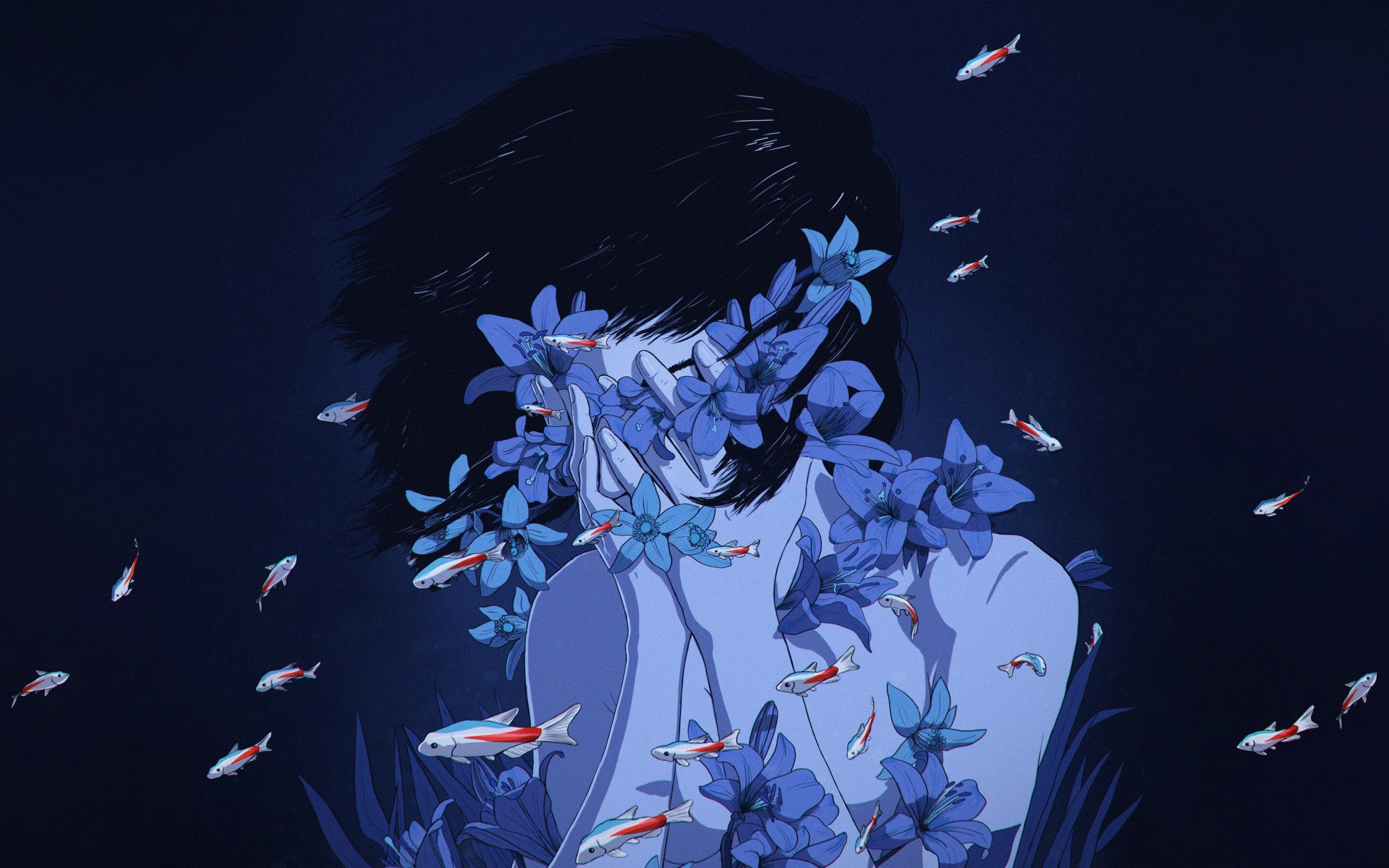 Perfect Blue Hd Wallpaper Background Image 1920x1200 Id 1098378 Wallpaper Abyss