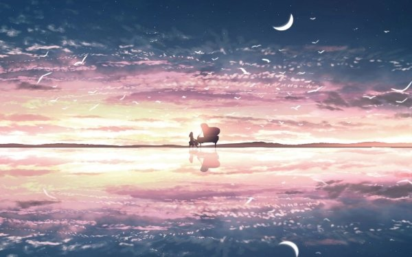 Anime Original Pianist Piano HD Wallpaper   Background Image