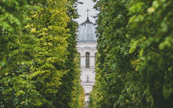 Religious Church Churches Kaunas Lithuania HD Wallpaper | Background Image
