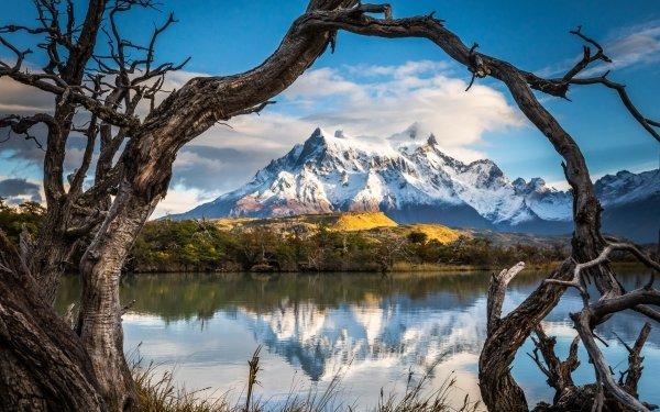 Earth Lake Lakes Mountain Nature Patagonia Reflection HD Wallpaper | Background Image