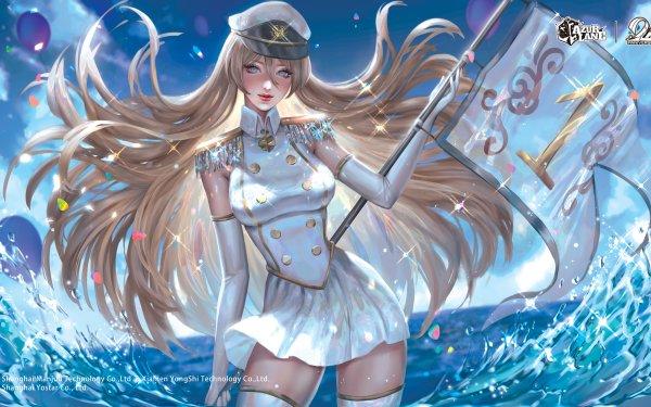 Anime Azur Lane Bismarck HD Wallpaper   Background Image