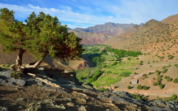 Earth Mountain Mountains Africa Morocco HD Wallpaper   Background Image