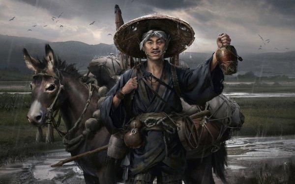 Video Game Ghost of Tsushima Kenji HD Wallpaper   Background Image