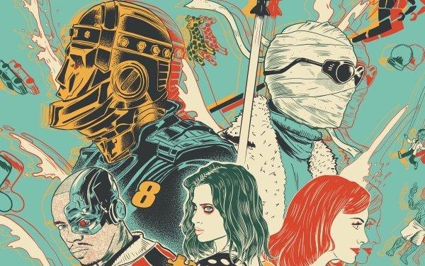 TV Show Doom Patrol Robotman Negative Man Elasti-Girl Crazy Jane Cyborg HD Wallpaper | Background Image