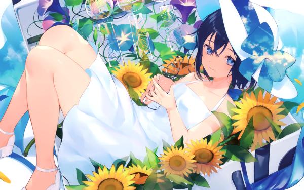 Anime Original Hat HD Wallpaper   Background Image