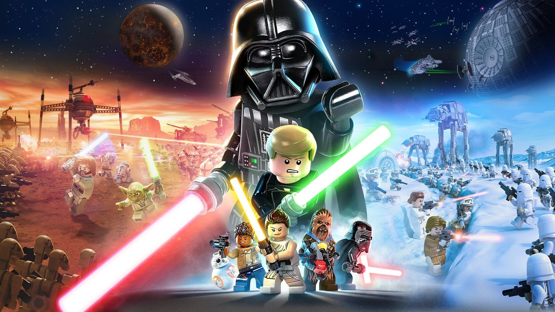 1 Lego Star Wars The Skywalker Saga Hd Wallpapers Background Images Wallpaper Abyss