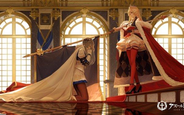 Anime Azur Lane Richelieu Saint Louis HD Wallpaper   Background Image