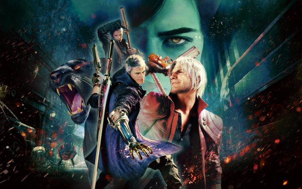 Video Game Devil May Cry 5 Special Edition Devil May Cry Devil May Cry 5 V Vergil Dante Nero HD Wallpaper | Background Image