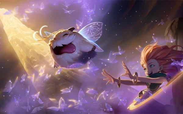 Video Game Legends of Runeterra Zoe Poro HD Wallpaper | Background Image