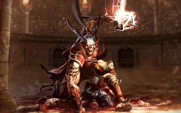 Video Game Mortal Kombat 11 Shao Kahn Warrior HD Wallpaper | Background Image