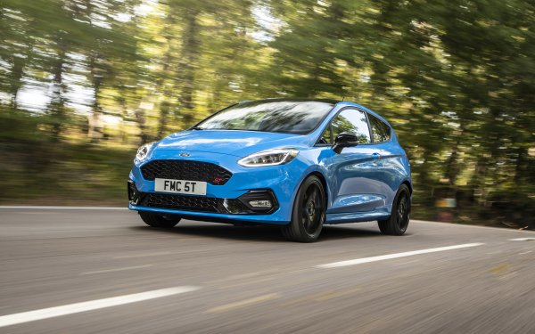 Vehicles Ford Fiesta ST Ford Fiesta ST 3-door Ford Fiesta Ford Car Blue Car Compact Car HD Wallpaper   Background Image