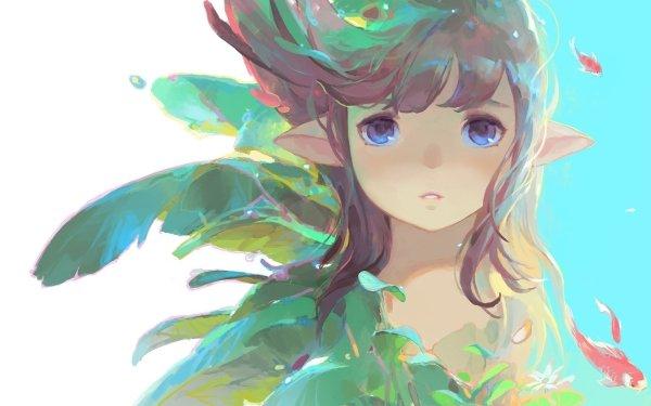 Fantasy Elf Fish HD Wallpaper | Background Image