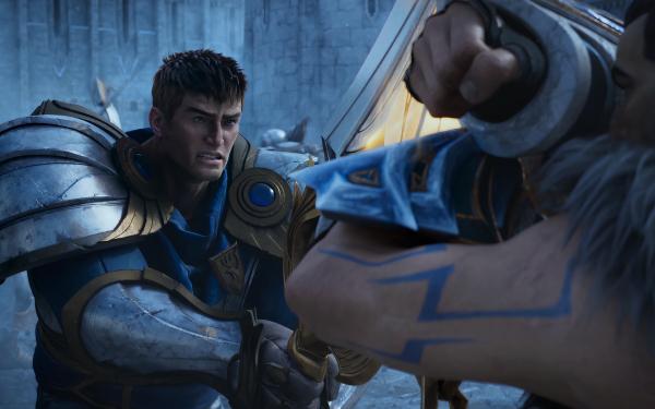 Videojuego League Of Legends Garen Sylas Man Espada Fondo de pantalla HD | Fondo de Escritorio