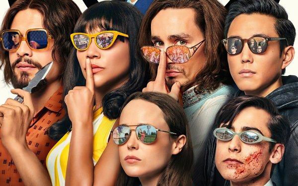 TV Show The Umbrella Academy Aidan Gallagher Ellen Page HD Wallpaper | Background Image