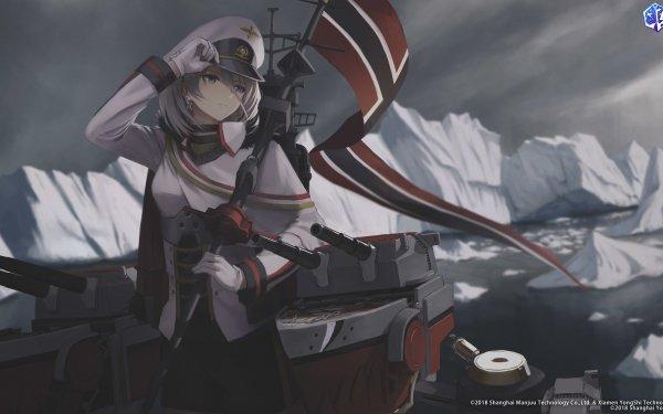 Anime Azur Lane Tirpitz HD Wallpaper | Background Image