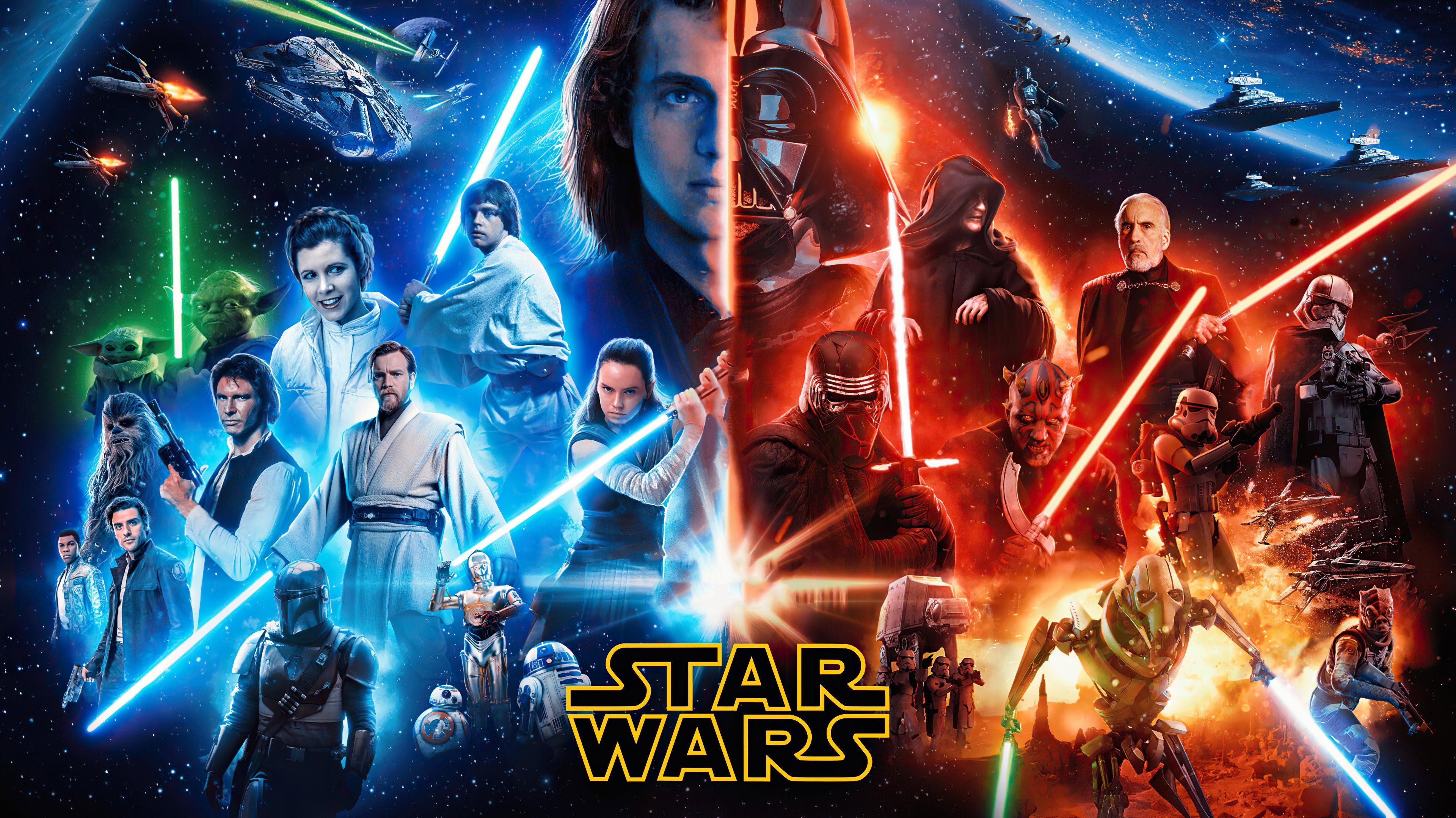 Star Wars 4k Ultra Hd Wallpaper Background Image 3840x2160 Id 1113894 Wallpaper Abyss