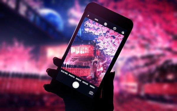 Anime Original Telephone HD Wallpaper   Background Image