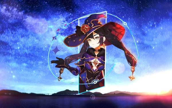 Video Game Genshin Impact Mona HD Wallpaper   Background Image