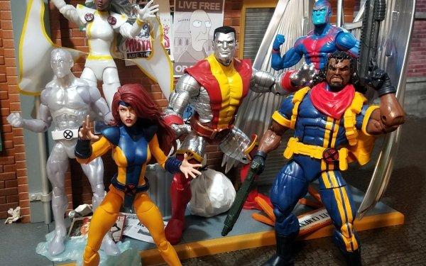 Man Made Toy Jean Grey Bishop Storm Archangel Warren Worthington III Colossus Iceman X-Men Figurine Bobby Drake HD Wallpaper | Background Image
